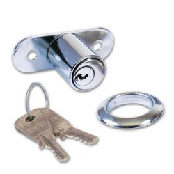 Yale 230 Chrome Plated Sliding Door Lock