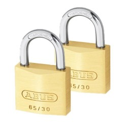 Abus 40mm Carded Padlock Twin Pack
