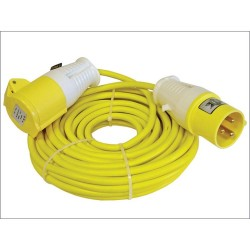 Faithfull 14m Trailing Lead with 110V Plug and Socket