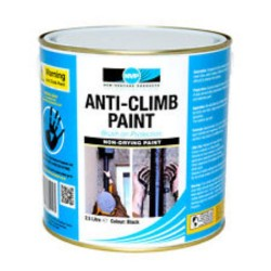5L Black Anti-Climb Paint