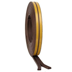 5m Brown 'P' Intumescent Strip