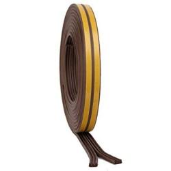 5m Brown 'P' Intumescent Strip