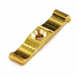 10mm x 38mm Brass Turn Button Latch
