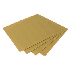 100 Grit Fine Glass Paper (25 Sheets)