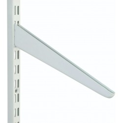 180mm White Slanting Shelf Bracket