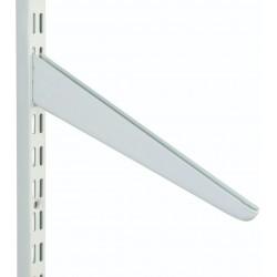 180mm White Slanting Shelf Bracket