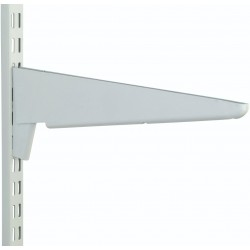 100 x 75mm White Reinforced Bracket