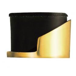 Carlisle Brass Polished Brass Round floor Door Stop