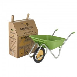 Haemmerlin 90L Polypro Handibarrow With Puncture Free Wheel
