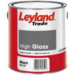 Leyland Trade 750ml Black Gloss
