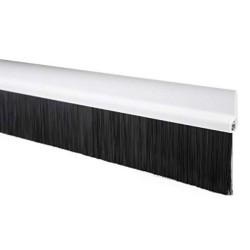 914mm White Brush Threshold