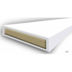 15 x 4mm White 1/2 Hour Intumescent Fire Seal
