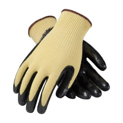 Kevlar Grip Coated Glove