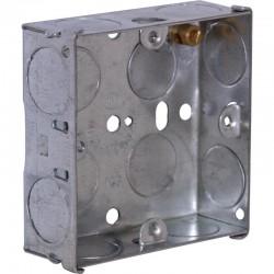 SparkPak 1 Gang 25mm Metal Box