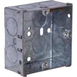 SparkPak 1 Gang 35mm Metal Box