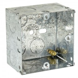 SparkPak 1 Gang 47mm Metal Box