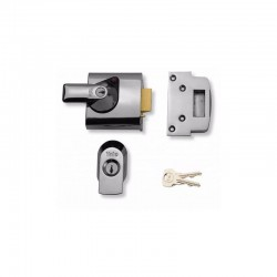 Yale Locks - BS1 Maximum Security Nightlatch - Chrome Finish