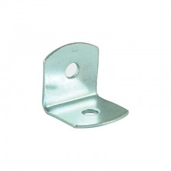 Timco 19mm Angled Brace Pack - 19mm x 19mm x 19mm - Pack of 10