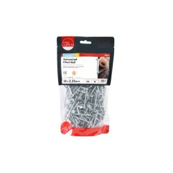 Timco Galvanised Clout, Roof, Felt Nails - 50mm x 3.35mm - 1kg Bag