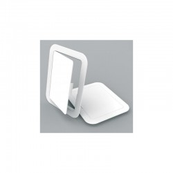 Manthorpe 150 x 200mm Fully Detachable White Access Panel