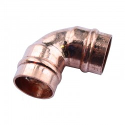 Oracstar 15mm Elbow Solder Ring Fitting For Plumbing - Pack of 2