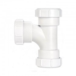 Oracstar MaKe Compression Swept Tee - 32mm Plumbing Fitting