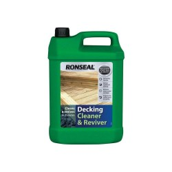 Ronseal Decking Cleaner - Clear - 5L