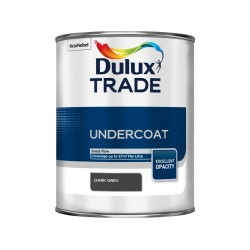 Dulux Trade 1L Undercoat - Dark Grey Finish