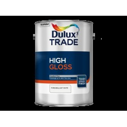 Dulux Trade 1L High Gloss - Pure Brilliant White Finish