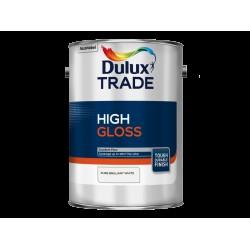 Dulux Trade 1L High Gloss - Pure Brilliant White Finish