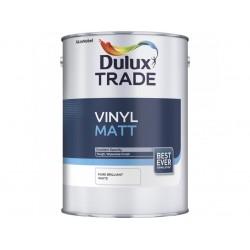 Dulux Trade 5L Vinyl Matt - White Finish