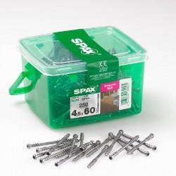 Spax 4.5mm x 60mm Deck Screws - Box of 250