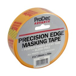 36mm x 50m Precision Edge Masking Tape