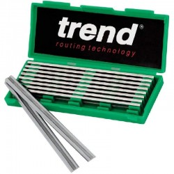 Trend Planer Blade Set For Craft - 82mm x 5.5mm x 1.1mm - 5 Pairs