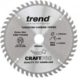 Trend Craft Saw Blade - 160mm x 48T x 20mm