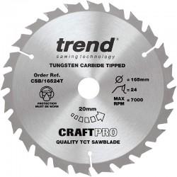 Trend Thin Craft Saw Blade - 165mm x 24T x 20mm