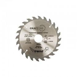 Trend Craft Saw Blade - 190mm x 24T x 30mm