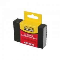 Fit For The Job Flexible Sanding Block - Fine/Medium Grade